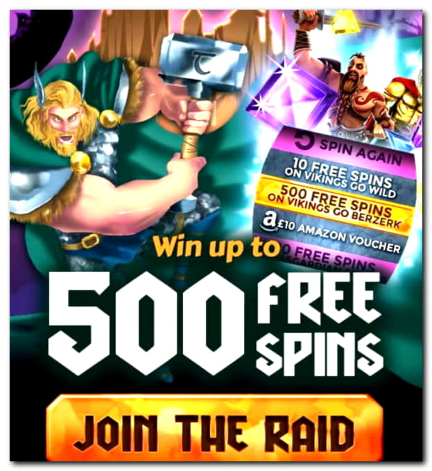 265 Free spins at Party Casino