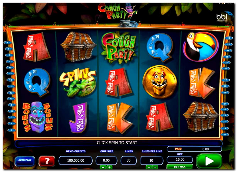 EUR 1720 No deposit bonus casino at Party Casino