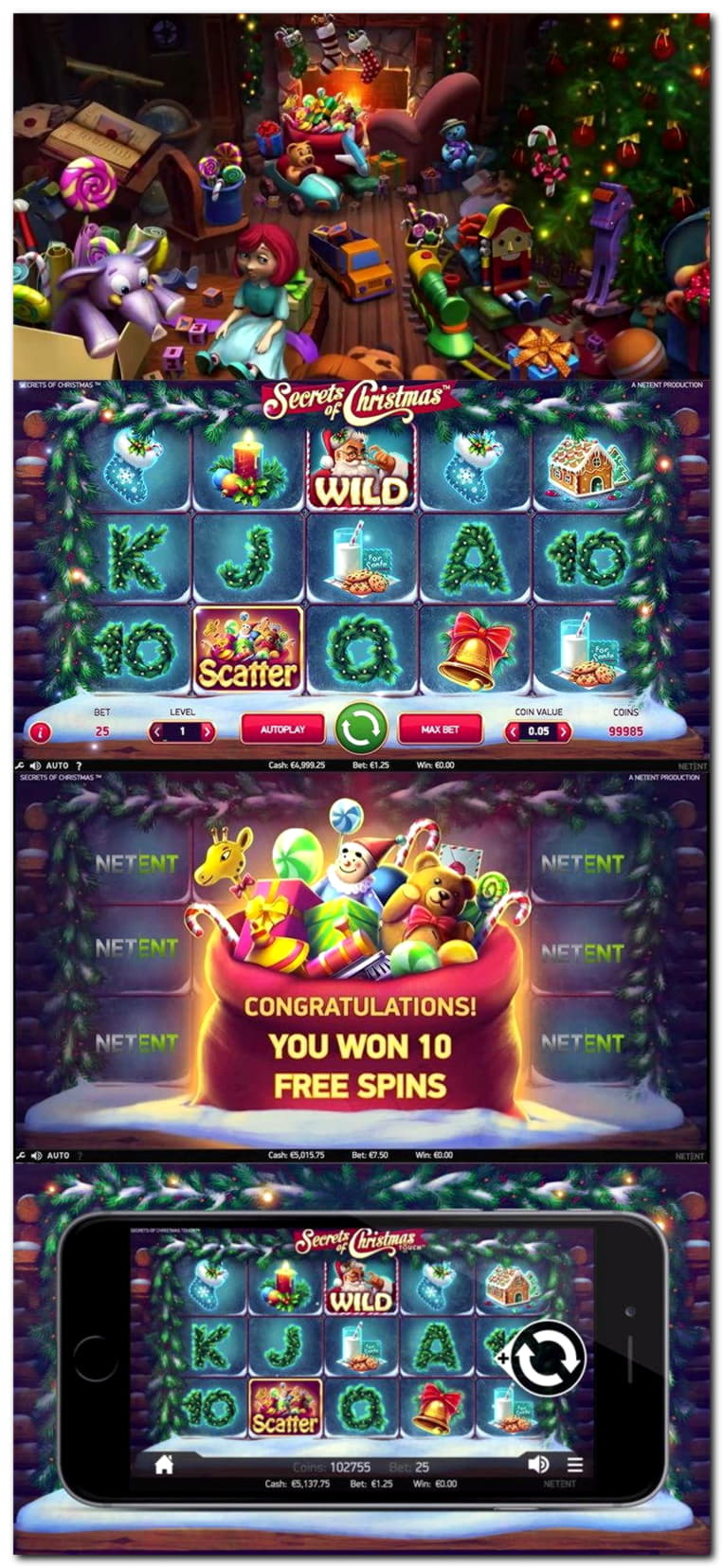 20 FREE SPINS at bWin Casino