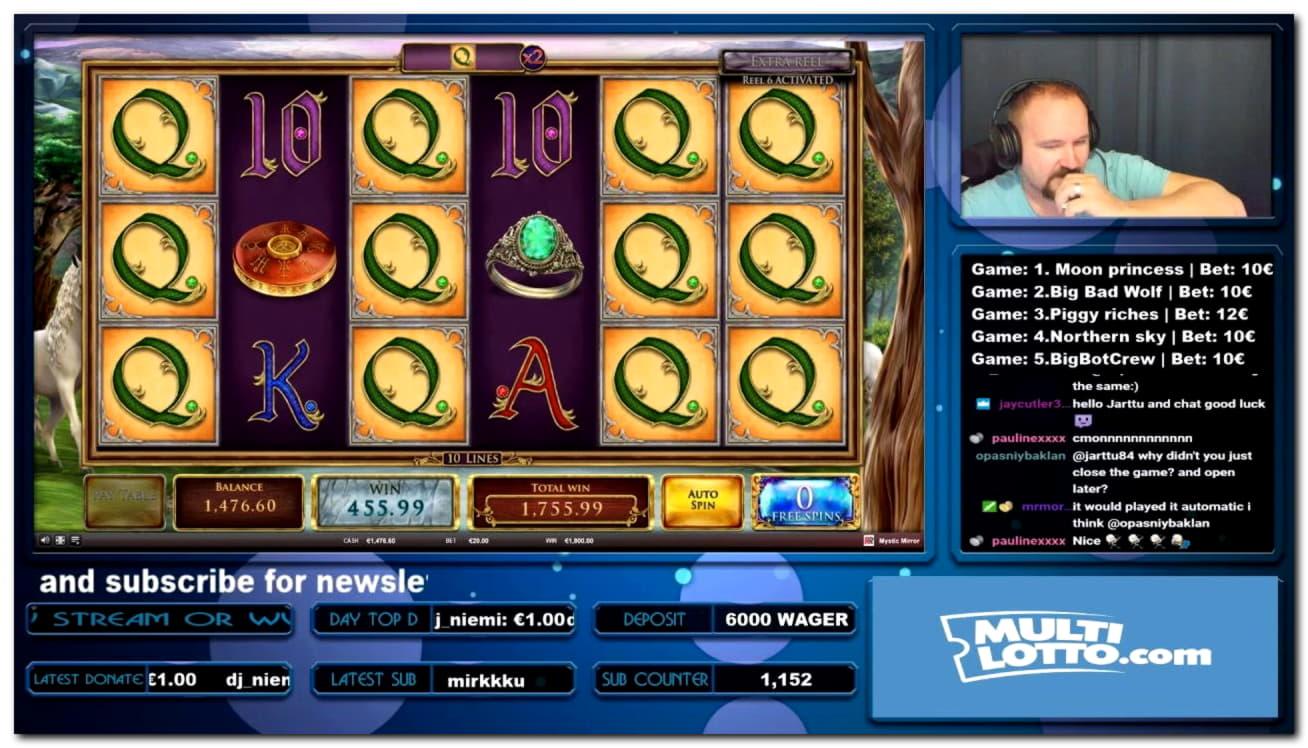 € 4000 ไม่มีโบนัสคาสิโนเงินฝากที่ William Hill Casino
