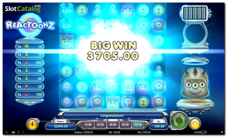 215 Free spins en Party Casino
